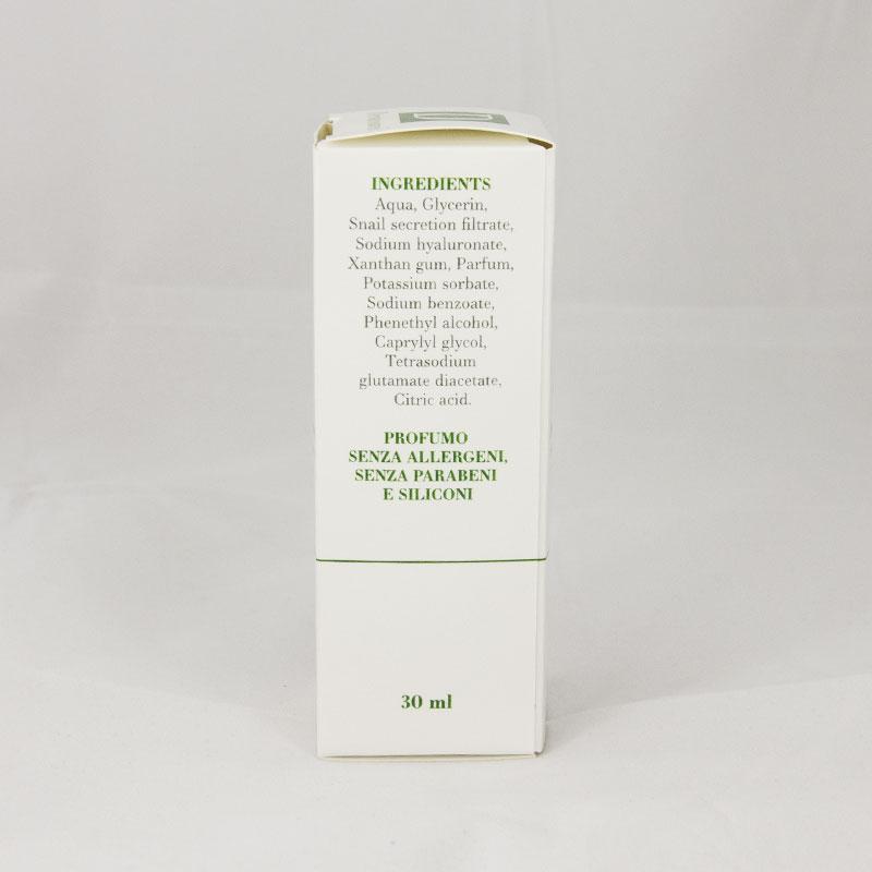 Helysir Serum Siero alla bava di lumaca e acido ialuronico Dermacosmesi 02