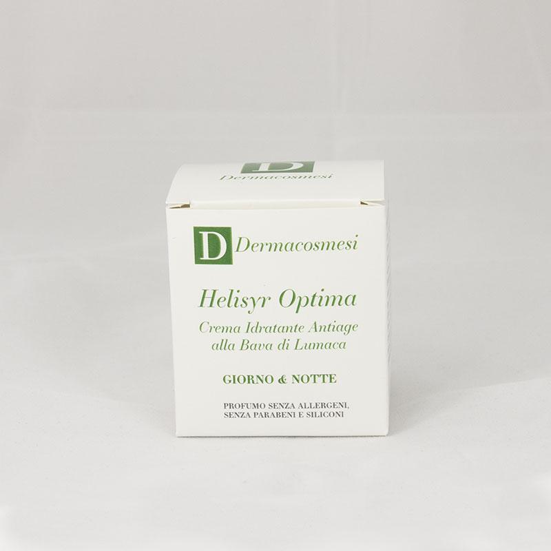 Helisyr Optima Crema Idratante Antiage Giorno e Notte alla Bava di lumaca e Acido Ialuronico